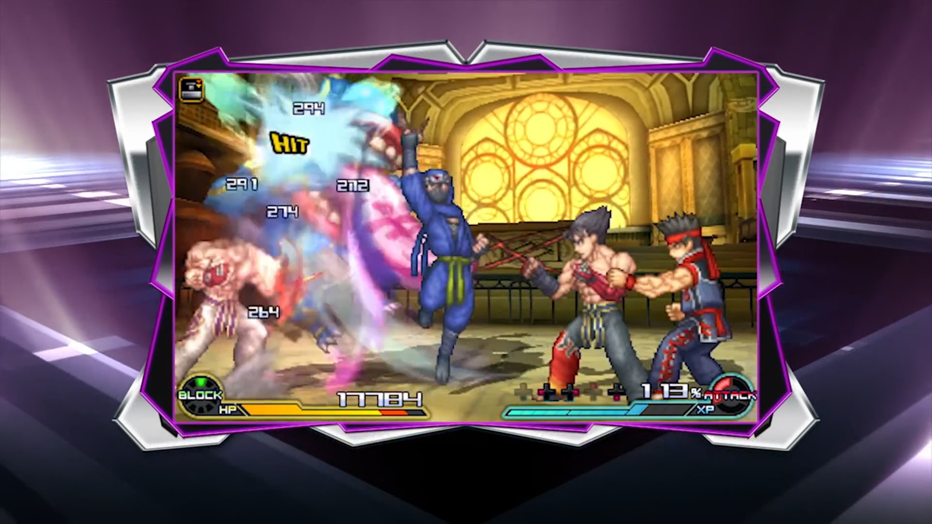 Project X Zone 2 Virtua Fighter Segalization