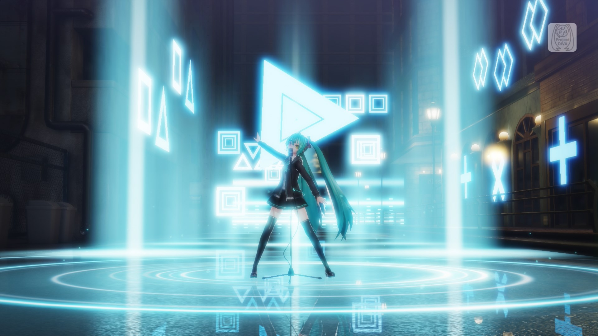 A closer look at the playstation 4 pro enhancements for - Hatsune miku project diva ...
