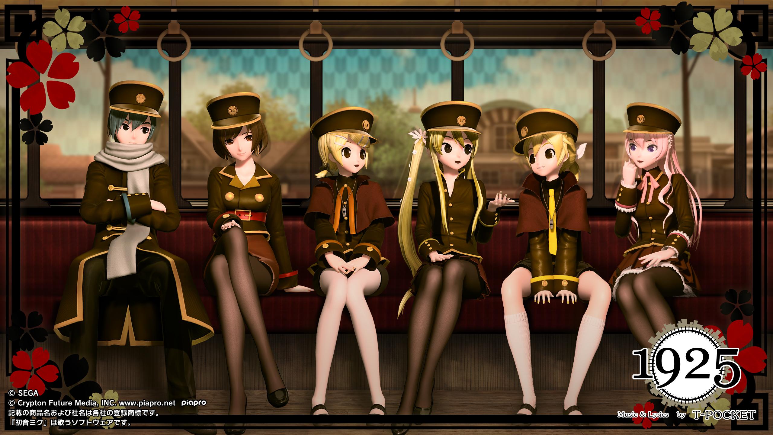 Hatsune miku project diva arcade future tone 39 s december - Diva wallpaper ...